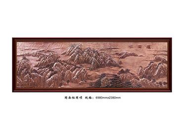 新疆FD004国画祖国颂
