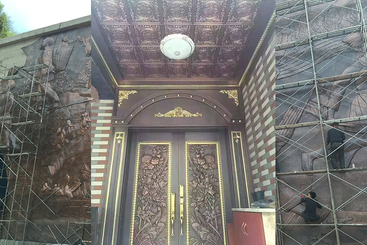 新疆铜门2