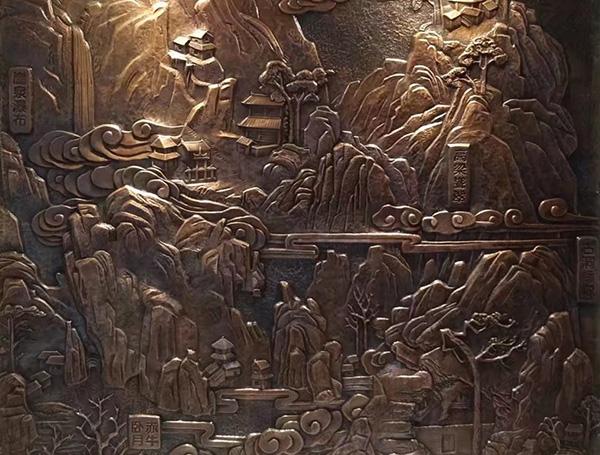 锻铜浮雕74