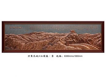 北京FD008万里长城+雪