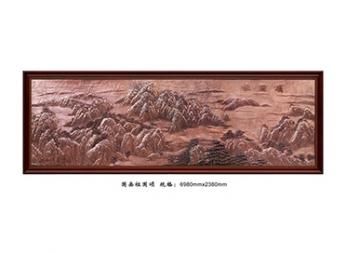 山西FD004国画祖国颂