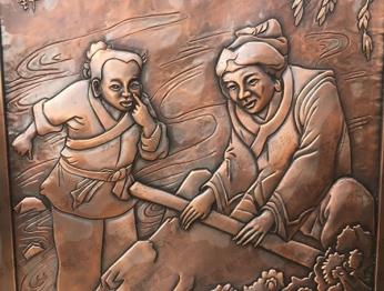 北京锻铜浮雕58