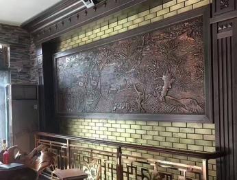 北京锻铜浮雕70