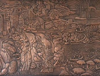 北京锻铜浮雕72