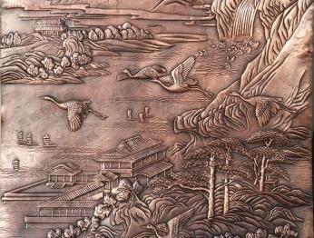 苏州锻铜浮雕78