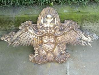 藏教类精细锻铜浮雕