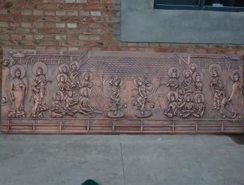 精致锻铜浮雕