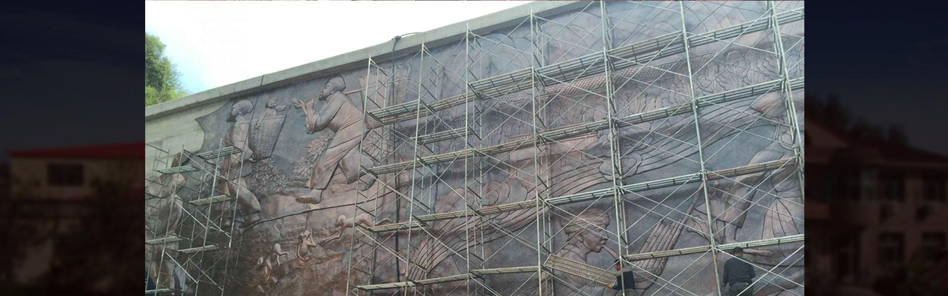 定制浮雕壁画